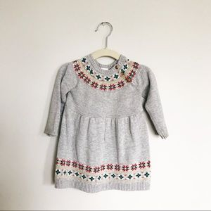 Other - Christmas sweater. Winter fair isle sweater dress